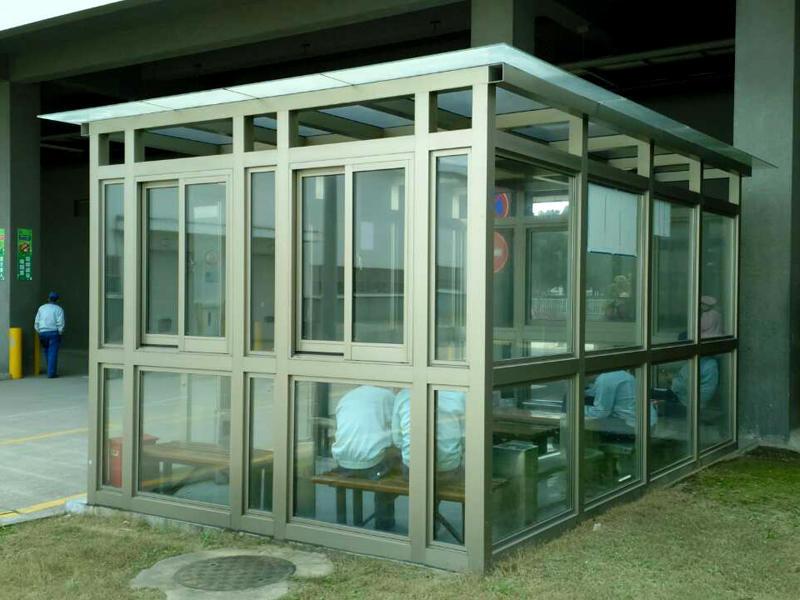 苏州工业园区吸烟亭案例